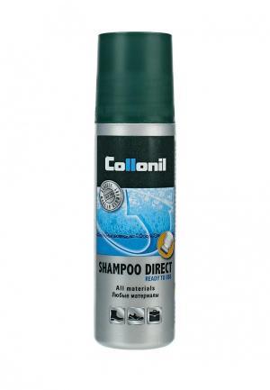 Шампунь для чистки обуви Collonil Direct shampoo, 100 мл. Цвет: прозрачный