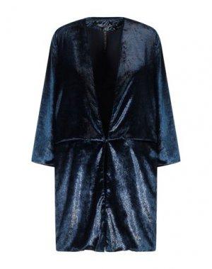 Легкое пальто MANILA GRACE. Цвет: синий