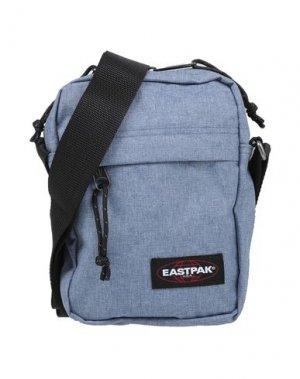 Сумка через плечо EASTPAK. Цвет: пастельно-синий