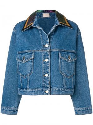 Джинсовая куртка Chainmail Christopher Kane