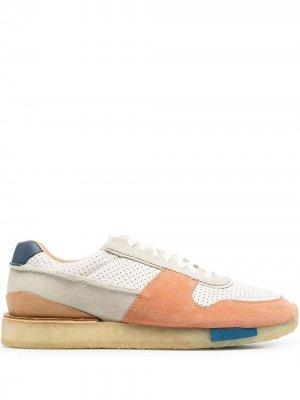 Кроссовки Torrun со вставками Clarks Originals. Цвет: оранжевый