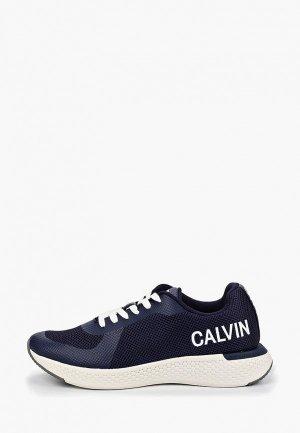 Кроссовки Calvin Klein Jeans. Цвет: синий