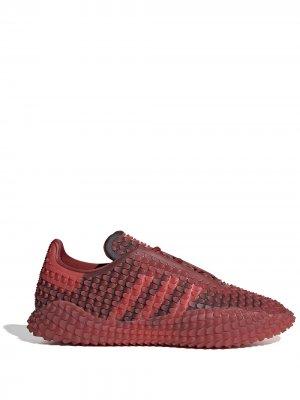 Кроссовки Graddfa AKH adidas by Craig Green. Цвет: красный