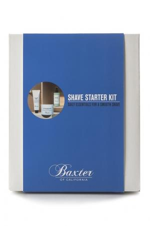 Набор для бритья Shave Starter Kit Baxter of California. Цвет: без цвета