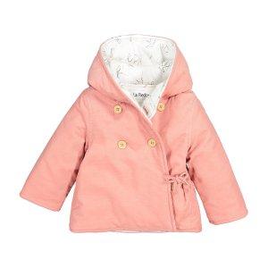 Пальто La Redoute. Цвет: розовый