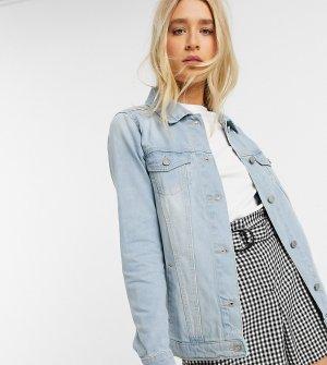 Голубая джинсовая куртка -Синий Brave Soul Tall