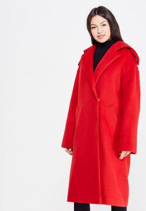 Пальто Maria Golubeva. Цвет: красный