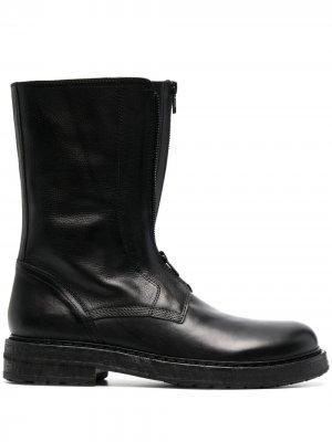 Массивные ботинки Ann Demeulemeester. Цвет: черный