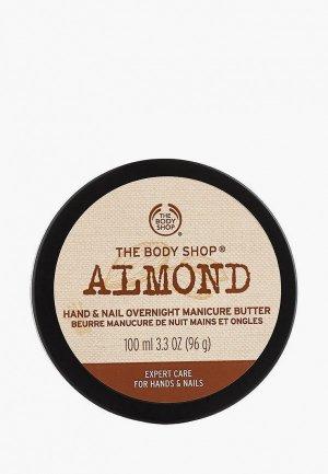 Масло для рук The Body Shop и ногтей Миндаль, 100 мл. Цвет: бежевый
