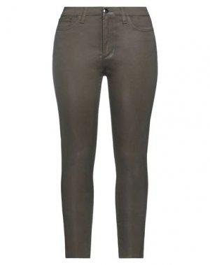 Повседневные брюки JOE'S JEANS. Цвет: зеленый-милитари