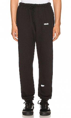 Свободные брюки ALIFE. Цвет: черный