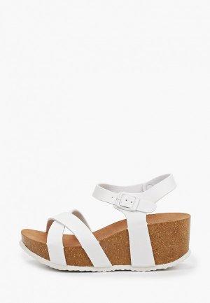 Босоножки Ideal Shoes. Цвет: белый
