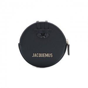 Кожаный кошелек для монет Le Pitchou Jacquemus. Цвет: синий