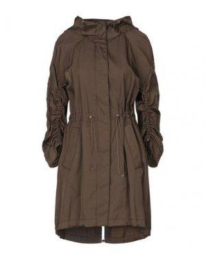 Легкое пальто GEOSPIRIT. Цвет: коричневый