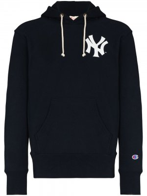 Худи из коллаборации с New York Yankees™ Champion. Цвет: синий