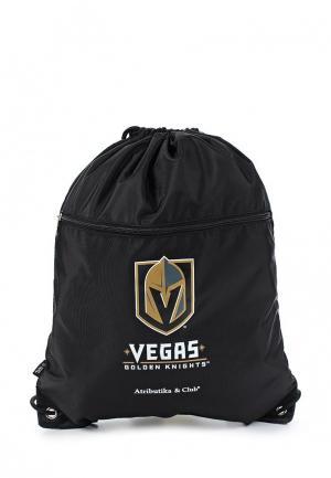 Мешок Atributika & Club™ NHL Vegas Golden Knigthts. Цвет: черный