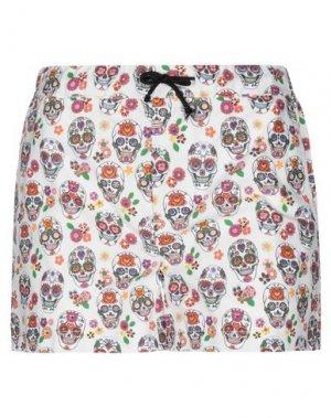 Повседневные шорты DANIELE ALESSANDRINI. Цвет: слоновая кость