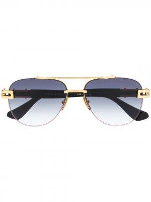 Солнцезащитные очки Grand Evo Two Dita Eyewear. Цвет: черный