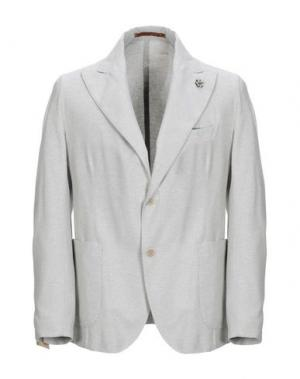 Пиджак GABARDINE. Цвет: светло-серый