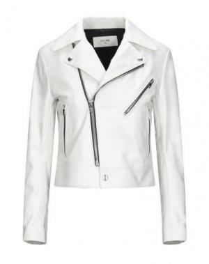 Куртка CELINE. Цвет: белый
