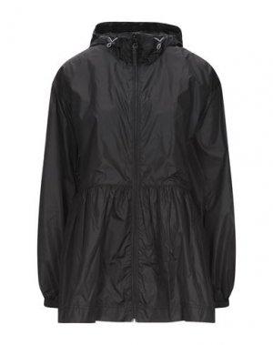 Легкое пальто DUVETICA. Цвет: черный