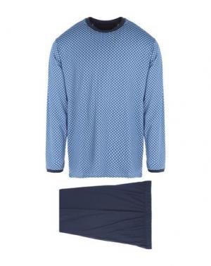 Пижама AMBASSADOR. Цвет: грифельно-синий