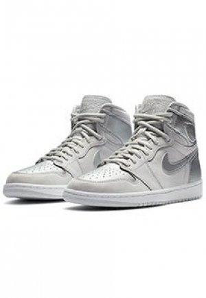 Кроссовки Air Jordan 1. Цвет: серый