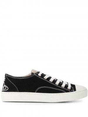 Кеды на шнуровке Vivienne Westwood. Цвет: черный