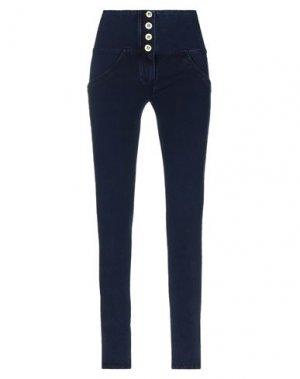 Повседневные брюки FREDDY. Цвет: синий
