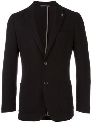 Пиджак на пуговицах Michael Kors. Цвет: чёрный