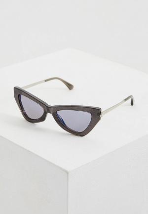 Очки солнцезащитные Jimmy Choo DONNA/S Y6U. Цвет: серый