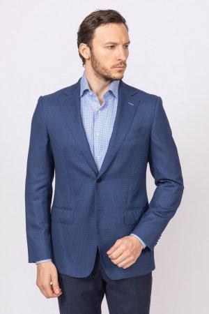 Пиджак приталенный из шерсти KANZLER