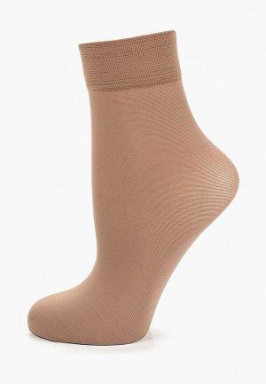 Носки Allure. Цвет: бежевый
