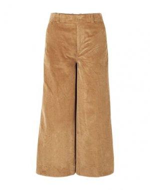 Повседневные брюки ELIZABETH AND JAMES. Цвет: верблюжий