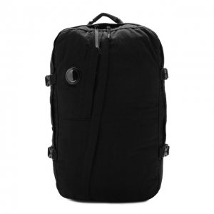Текстильный рюкзак C.P. Company. Цвет: чёрный