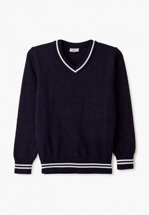 Пуловер Stenser. Цвет: синий