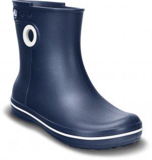 Резиновые сапоги женские CROCS Women's Jaunt Shorty Boot Navy (Синий) арт. 15769. Цвет: синий