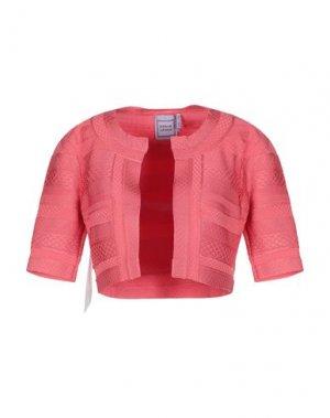 Кардиган HERVÉ LÉGER. Цвет: розовый