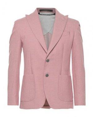Пиджак MESSAGERIE. Цвет: розовый