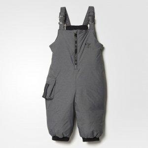 Утепленный полукомбинезон Snow Originals adidas. Цвет: белый