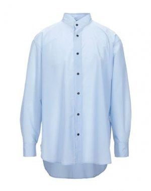Pубашка DAMIR DOMA. Цвет: небесно-голубой