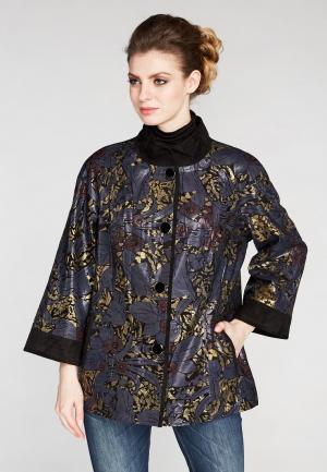Куртка кожаная Kircilar. Цвет: черный