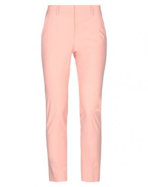 Повседневные брюки CAPPELLINI by PESERICO. Цвет: лососево-розовый