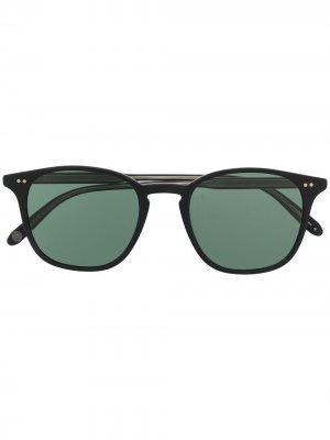 Солнцезащитные очки Clark Garrett Leight. Цвет: черный