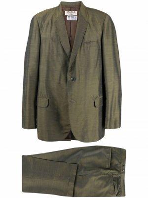 Костюм-двойка 1960-х годов с однобортным пиджаком A.N.G.E.L.O. Vintage Cult. Цвет: зеленый