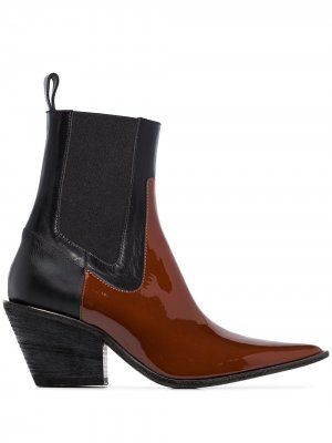 Ковбойские ботинки Buffalo 60 Haider Ackermann. Цвет: коричневый