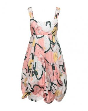 Короткое платье FULL CIRCLE. Цвет: розовый