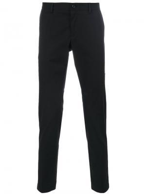 Классические брюки с полосками по бокам Dolce & Gabbana. Цвет: чёрный
