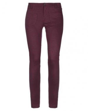 Повседневные брюки TROU AUX BICHES. Цвет: баклажанный