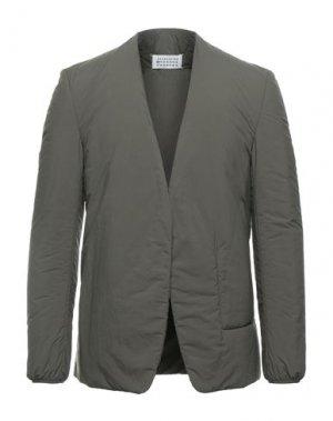 Пиджак MAISON MARGIELA. Цвет: зеленый-милитари